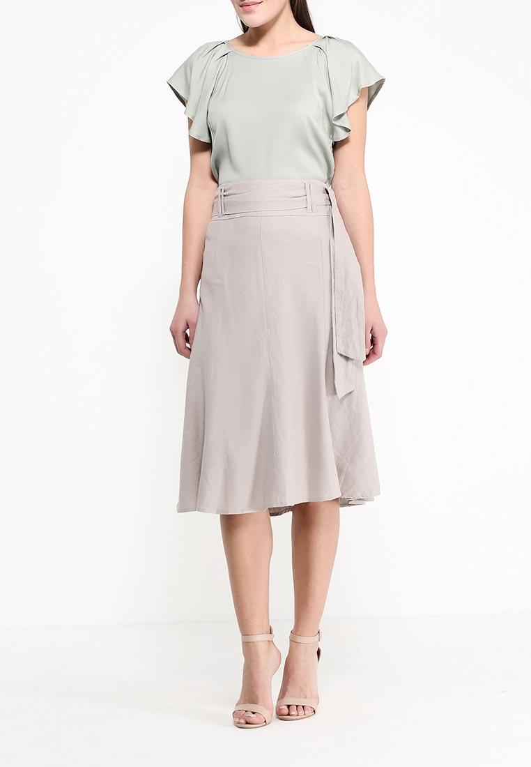 Широкая юбка oodji (Оджи) 21600232/19829/3300N: изображение 2