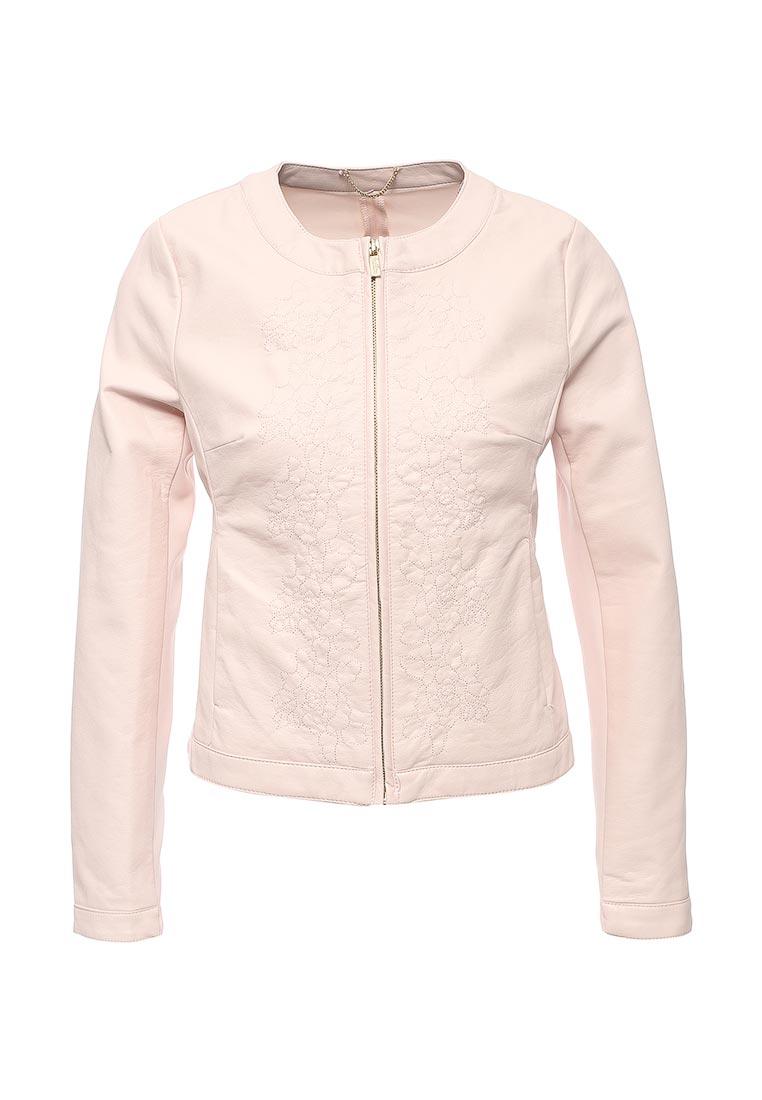 Кожаная куртка oodji (Оджи) 10304290/18432/4000N