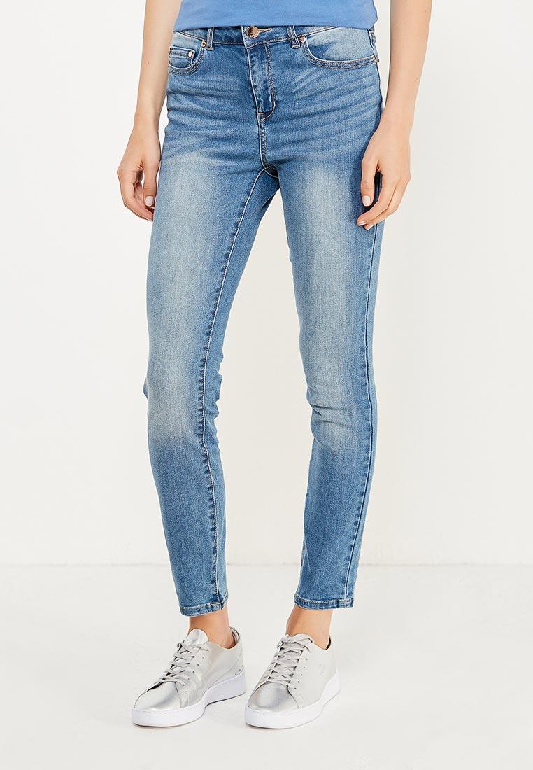 Зауженные джинсы oodji (Оджи) 12103149B/45379/7500W
