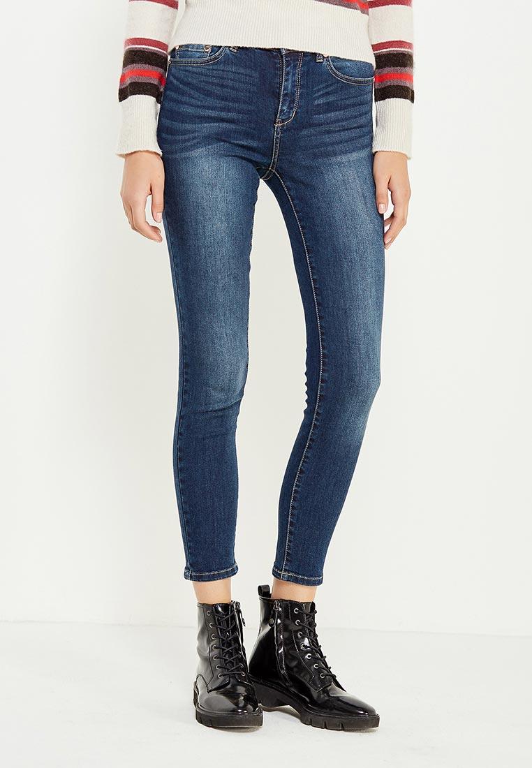 Зауженные джинсы oodji (Оджи) 12103149B/45379/7900W