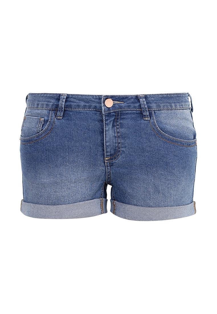 Женские джинсовые шорты oodji (Оджи) 12807025-3B/46253/7500W