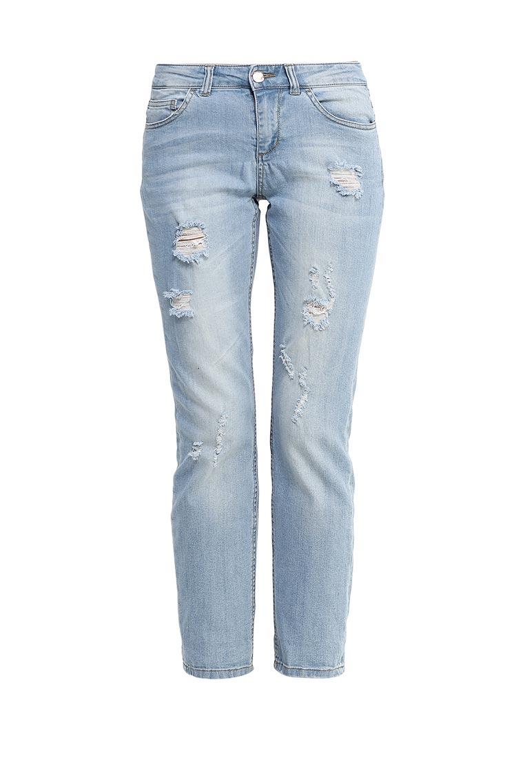 Зауженные джинсы oodji (Оджи) 12103151/45379/7000W