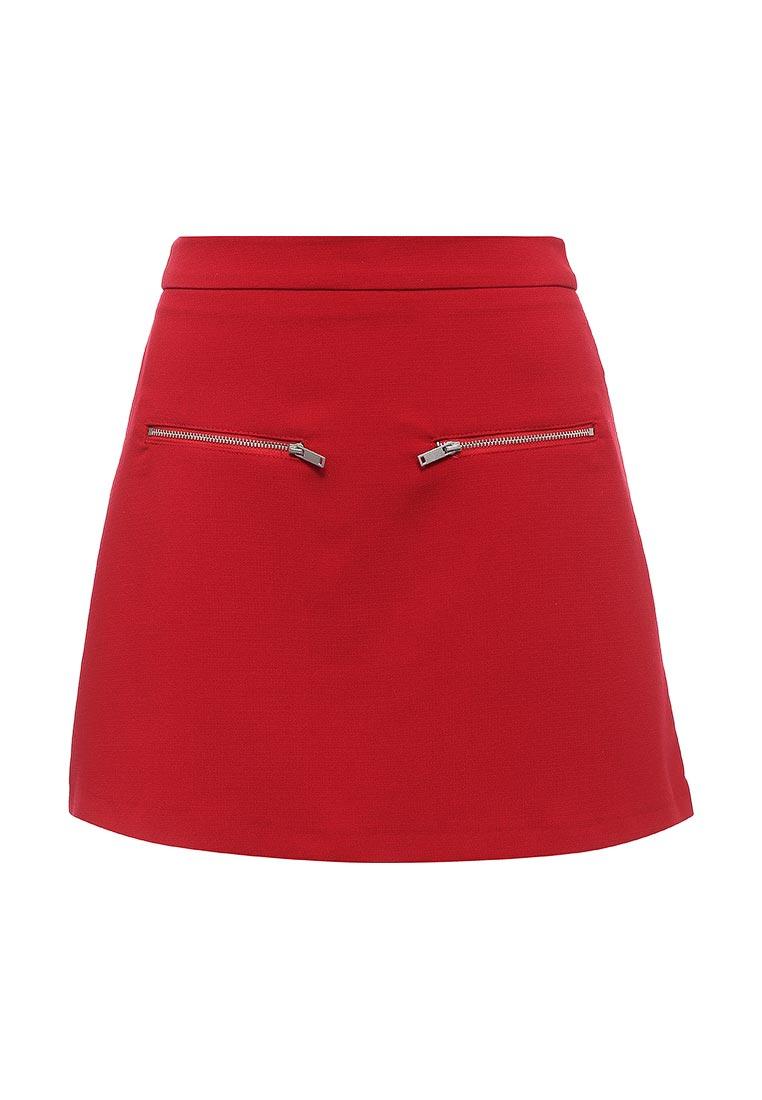 Прямая юбка oodji (Оджи) 11600436/31291/4500N