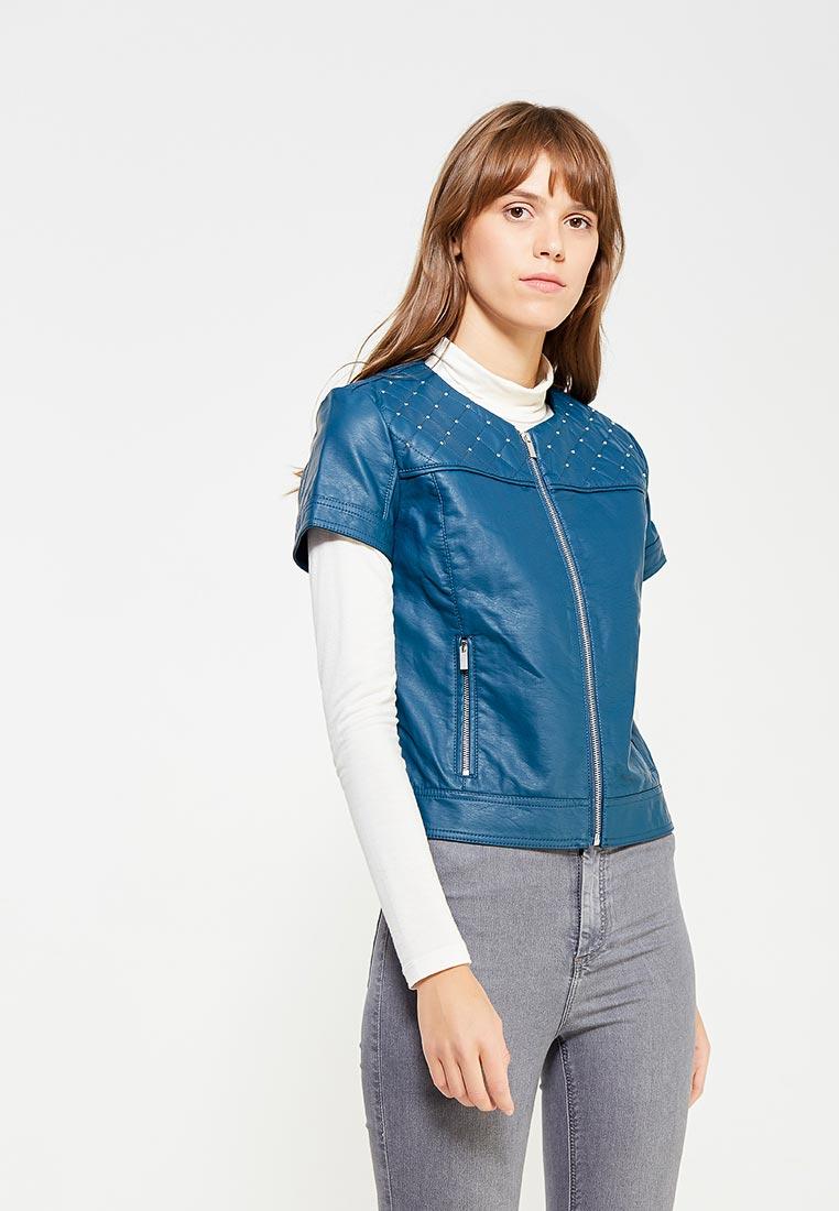 Кожаная куртка oodji (Оджи) 18A04010-1/46542/7500N