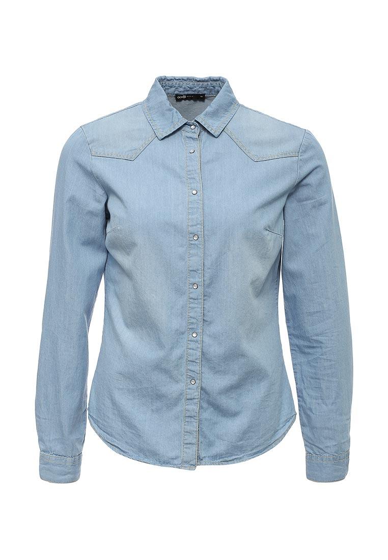 Женские джинсовые рубашки oodji 16A09003/42706/7000W