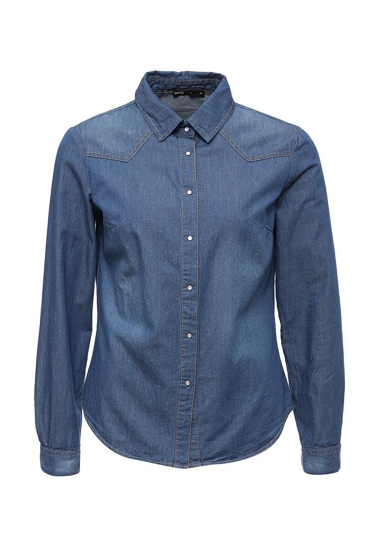 Женские джинсовые рубашки oodji 16A09003/42706/7500W