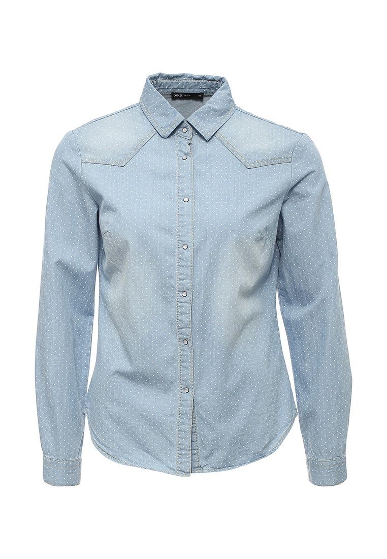 Женские джинсовые рубашки oodji 16A09003-1/46360/7012F