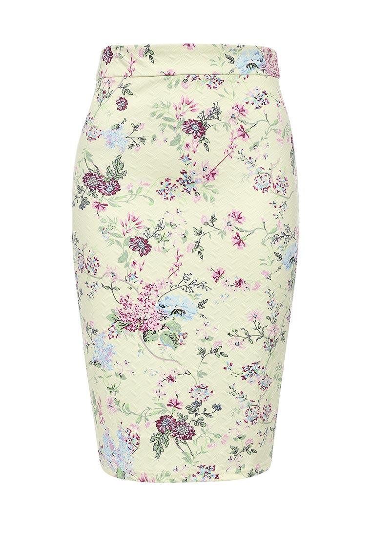 Узкая юбка oodji (Оджи) 14101088-1/42588/5041F
