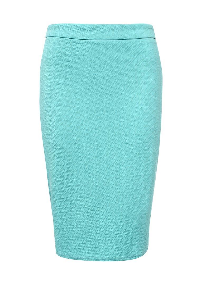 Прямая юбка oodji (Оджи) 14101088-1/42588/7300N
