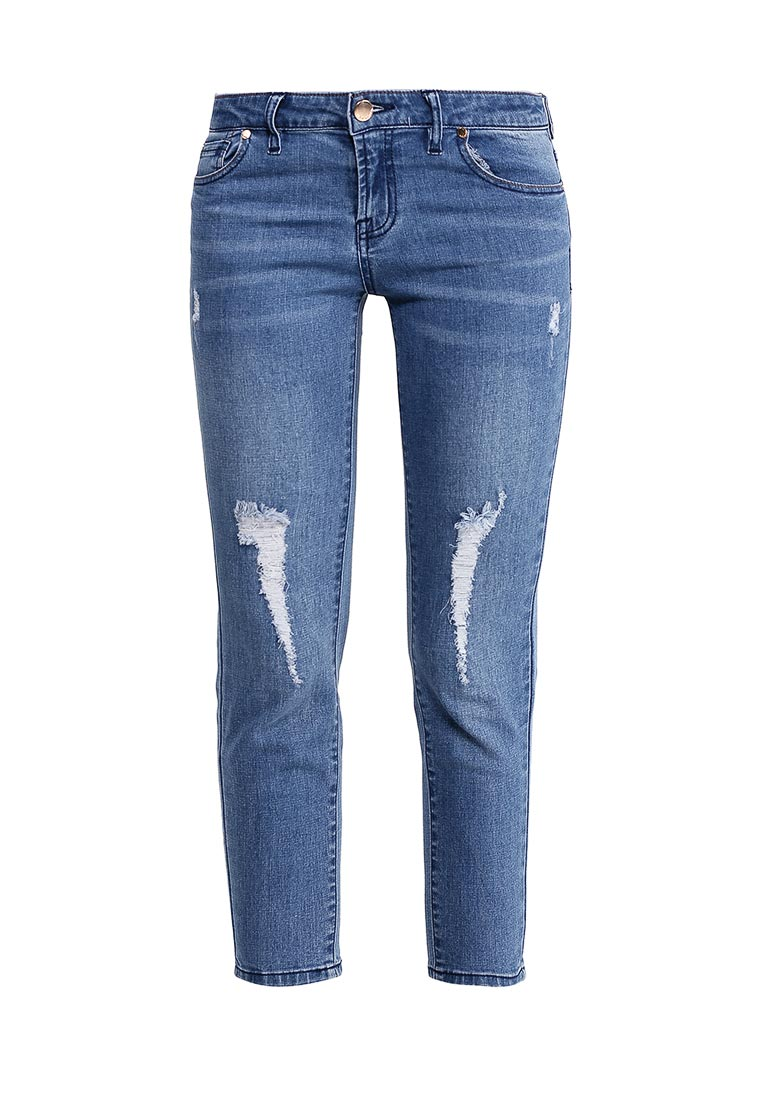 Зауженные джинсы oodji (Оджи) 12103155/43322/7500W