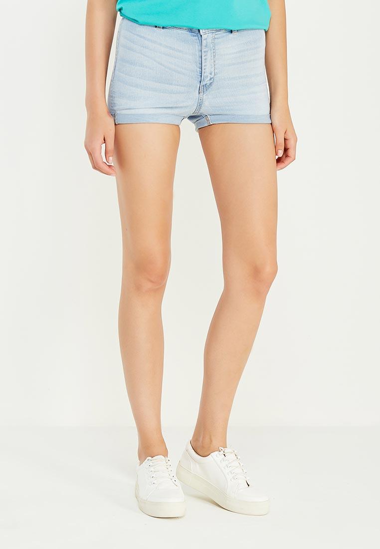 Женские джинсовые шорты oodji (Оджи) 12807076-1B/45877/7000W