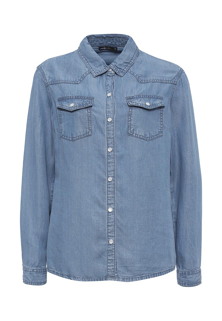 Женские джинсовые рубашки oodji 16A09005/45372/7500W
