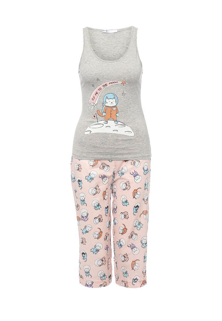 Пижама oodji (Оджи) 56001076-3/43112/2040P