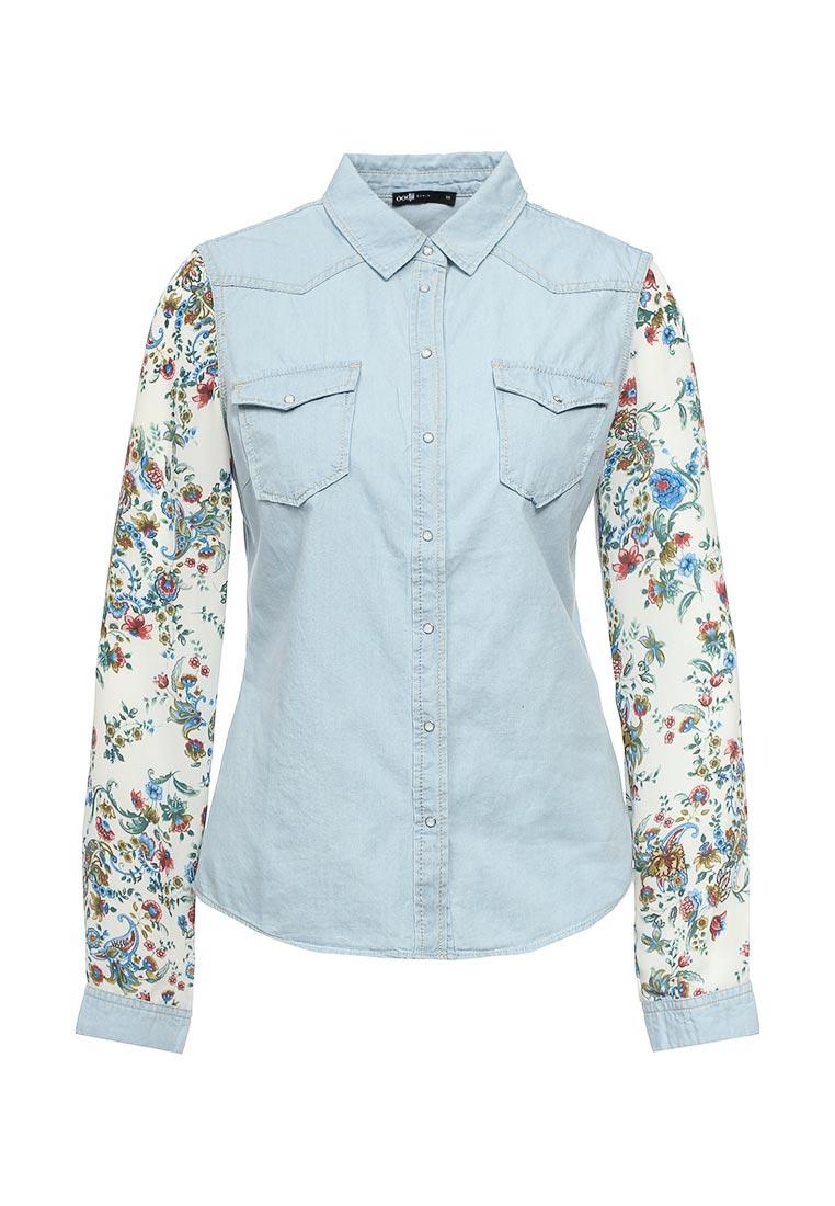 Женские джинсовые рубашки oodji 16A09001-2/42706/7000W