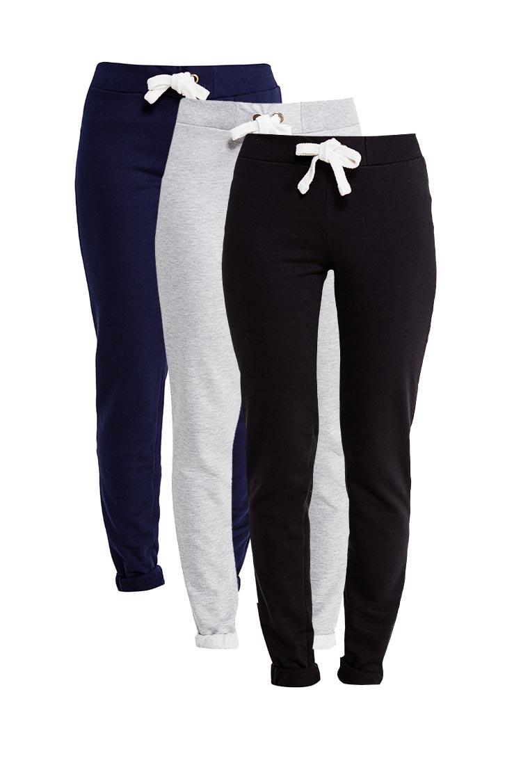 Женские спортивные брюки oodji (Оджи) 16701010T3/46980/19B3N