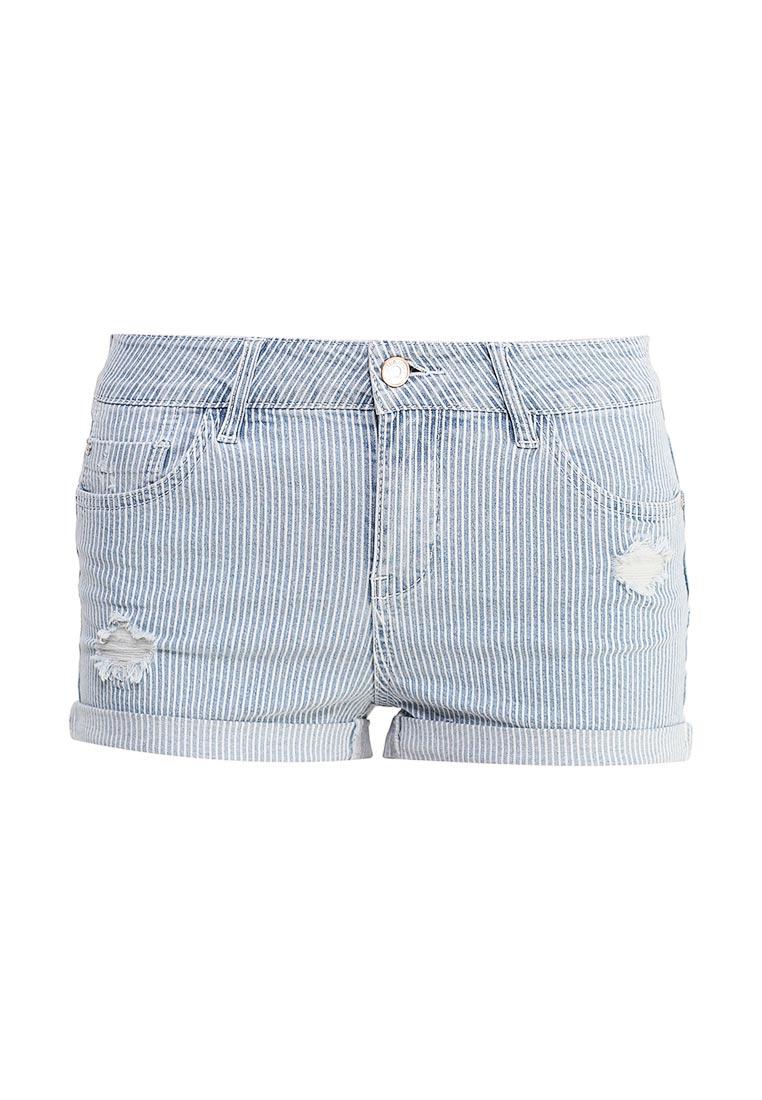 Женские джинсовые шорты oodji (Оджи) 12807081/46655/7500W