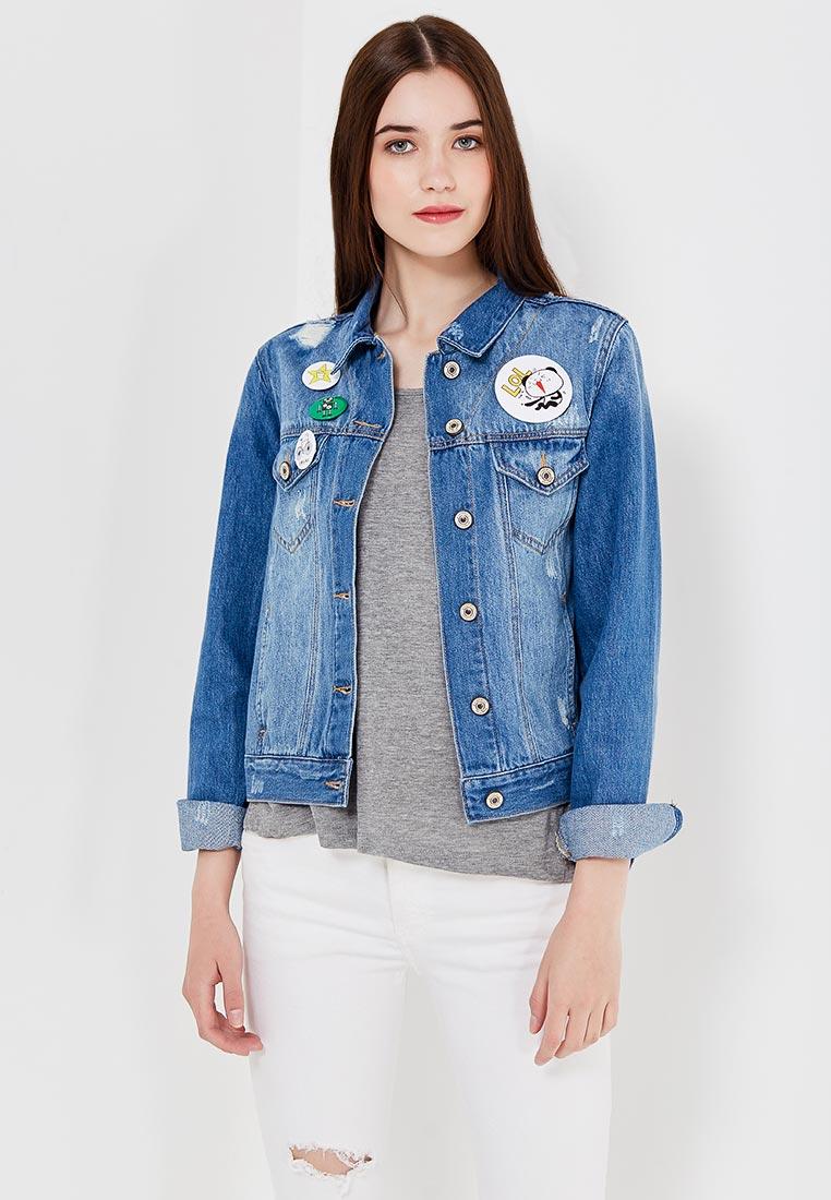 Джинсовая куртка oodji (Оджи) 11109031/46654/7500W