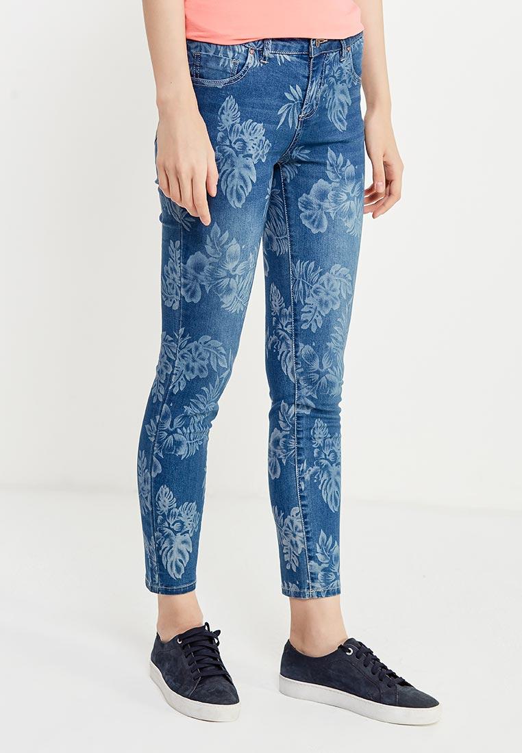 Зауженные джинсы oodji (Оджи) 12106147/46810/7500W