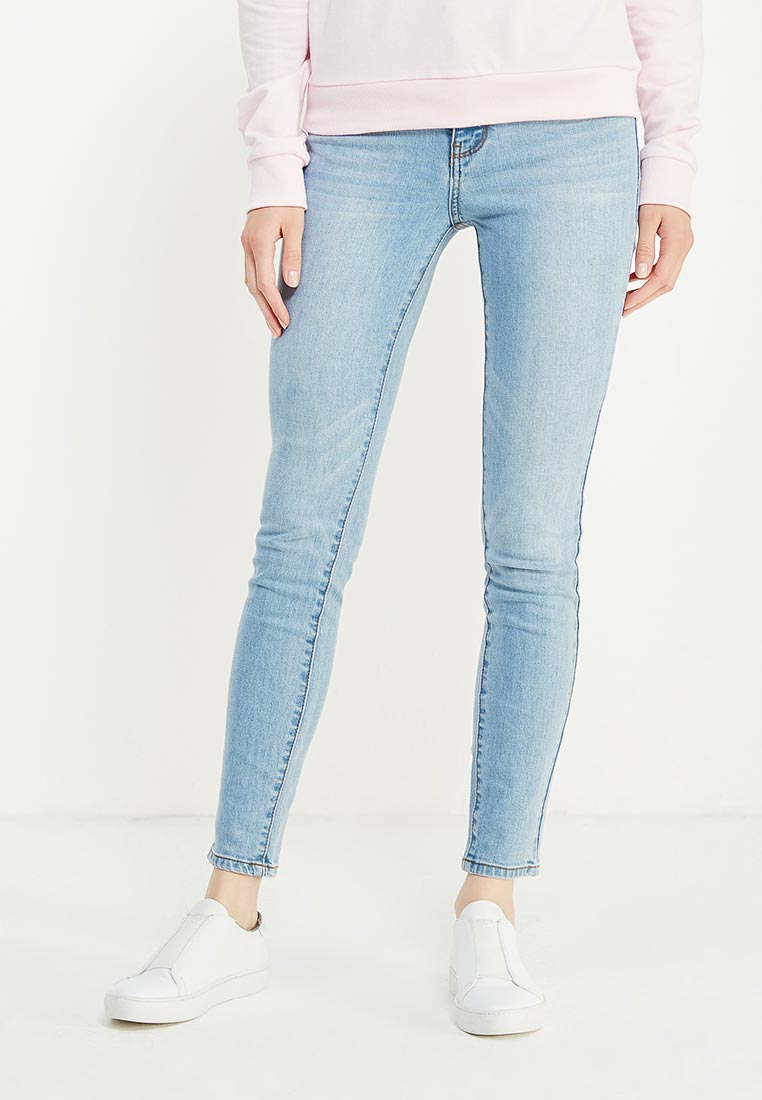 Зауженные джинсы oodji (Оджи) 12103145B/46341/7000W