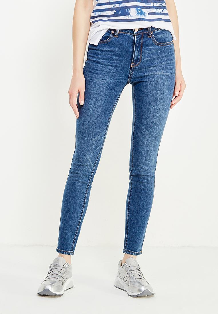 Зауженные джинсы oodji (Оджи) 12103145B/46341/7500W