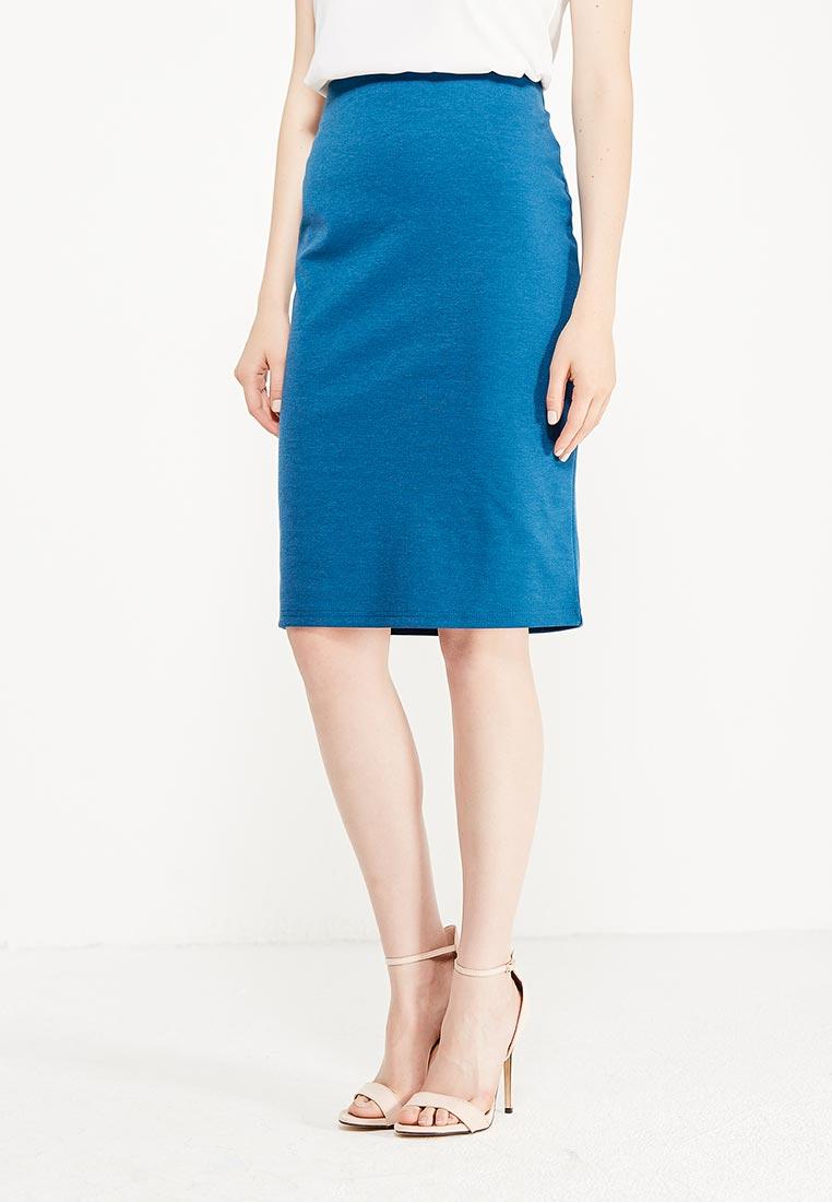 Прямая юбка oodji (Оджи) 24100022-1B/35477/7901N
