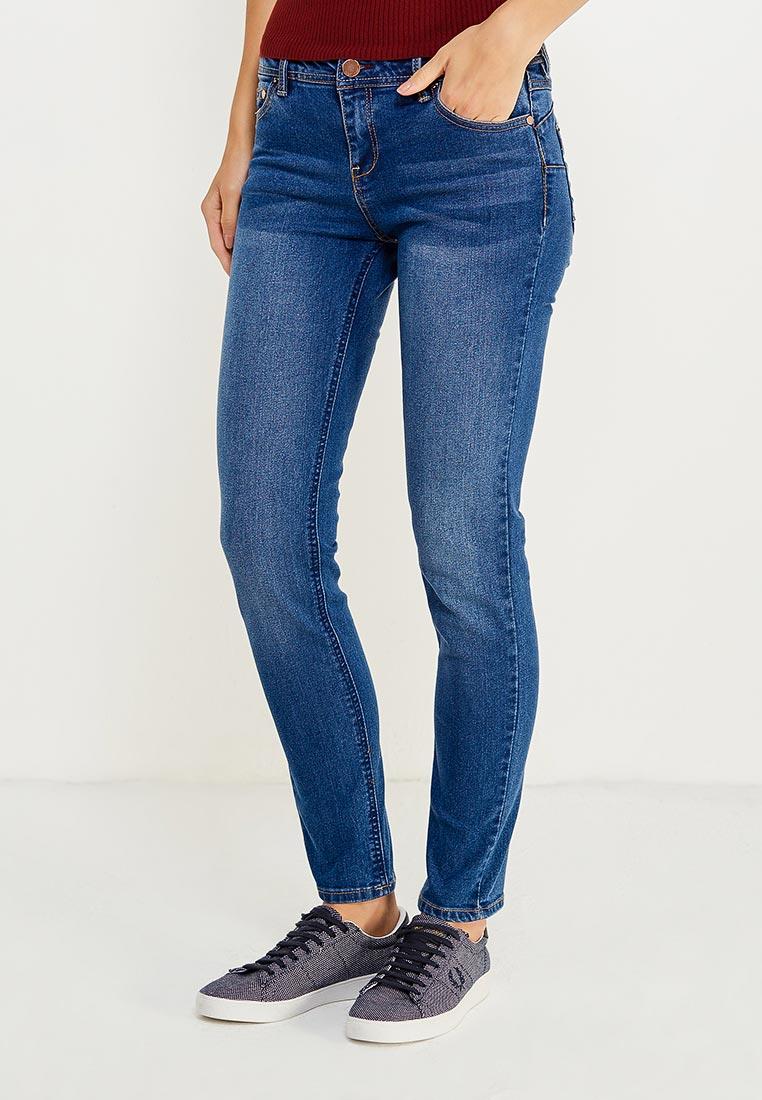 Зауженные джинсы oodji (Оджи) 12103126B/19603/7500W