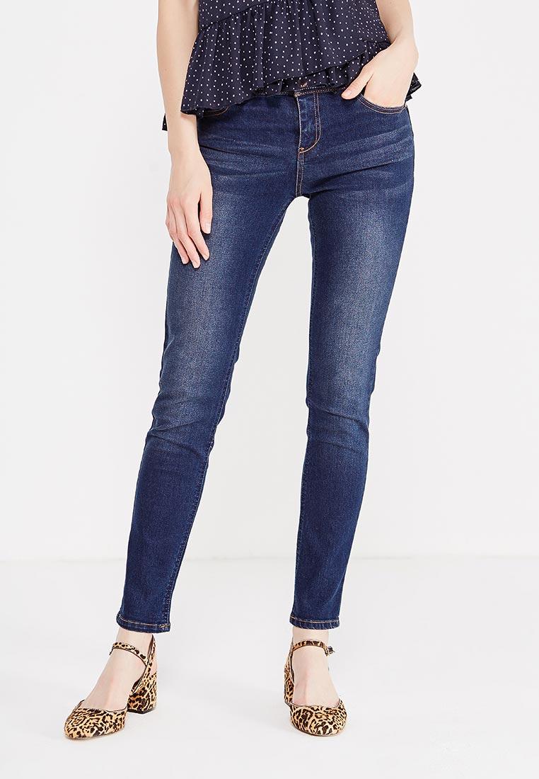 Зауженные джинсы oodji (Оджи) 12103126B/19603/7900W