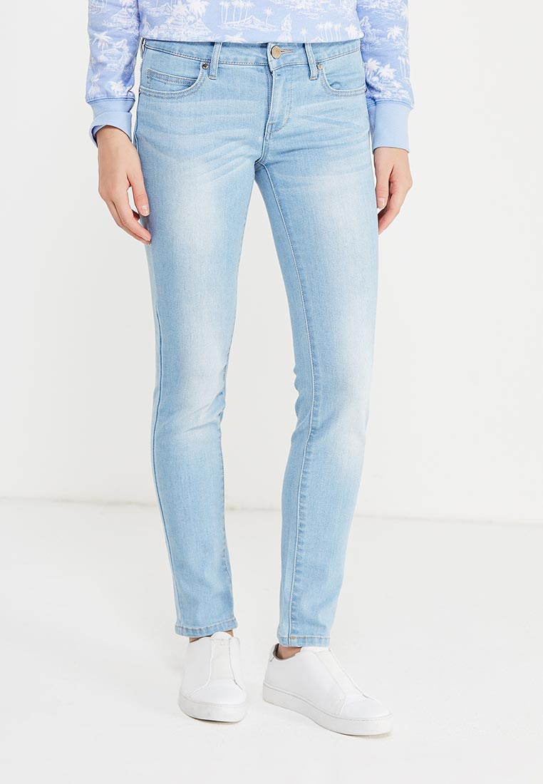 Зауженные джинсы oodji (Оджи) 12103144B/46734/7000W