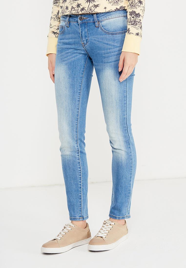 Зауженные джинсы oodji (Оджи) 12103144B/46734/7500W