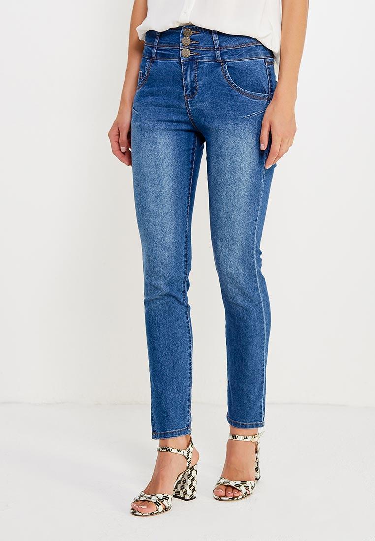 Зауженные джинсы oodji (Оджи) 12104053-1B/18831/7000W