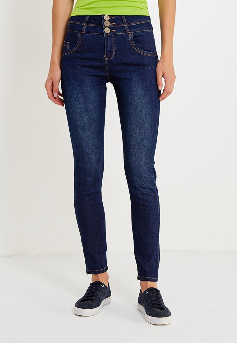 Зауженные джинсы oodji (Оджи) 12104053-1B/18831/7900W