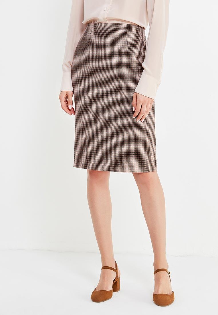 Прямая юбка oodji (Оджи) 21600282-4B/22124/3337C