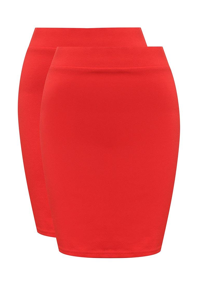 Прямая юбка oodji (Оджи) 14101001T2/46159/4500N