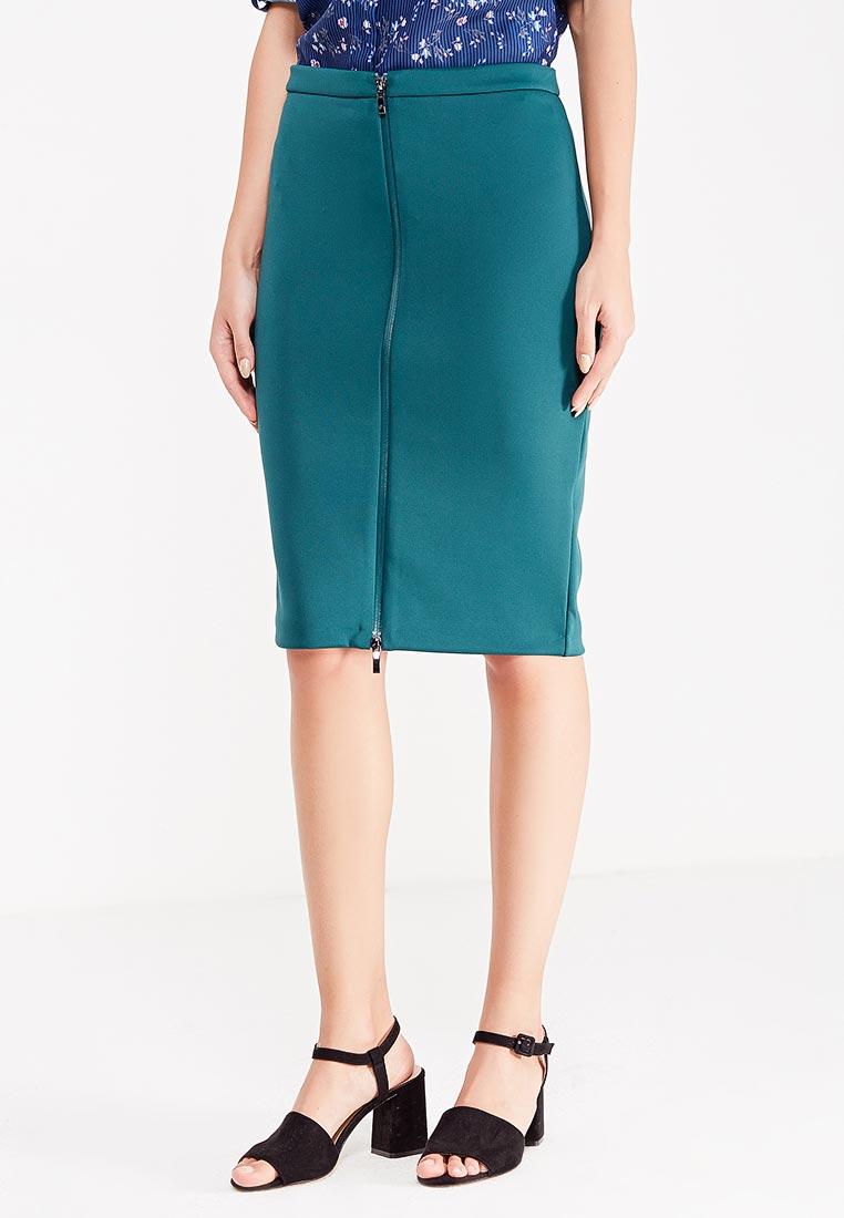 Прямая юбка oodji (Оджи) 24100033-3/45344/6E00N