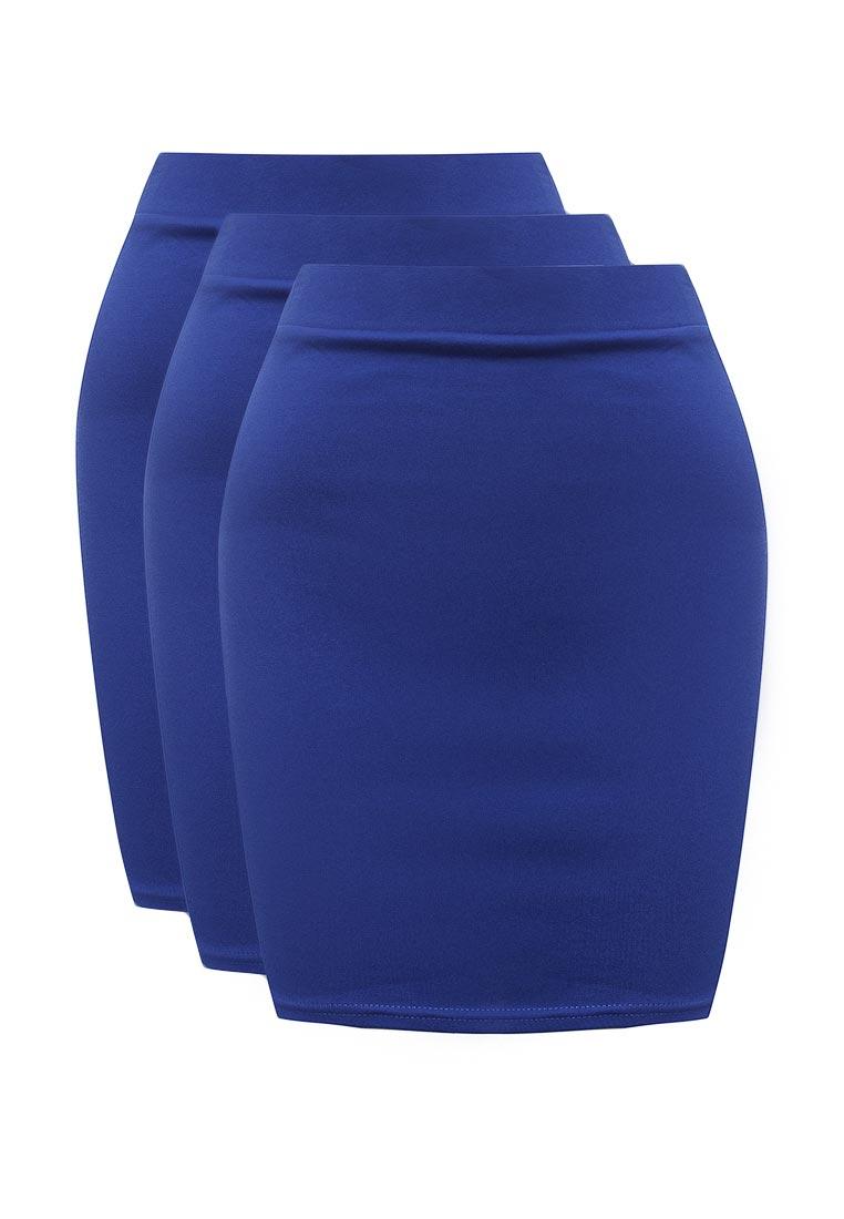 Прямая юбка oodji (Оджи) 14101001T3/46159/7500N