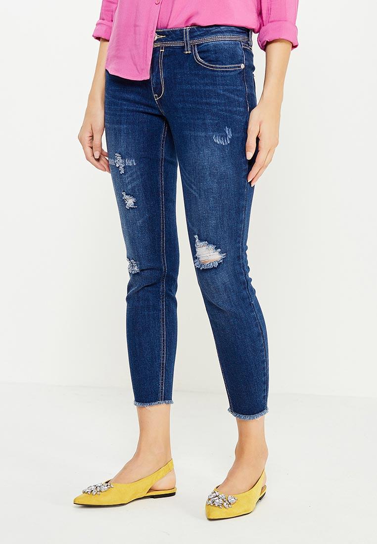 Зауженные джинсы oodji (Оджи) 12103160/46787/7900W
