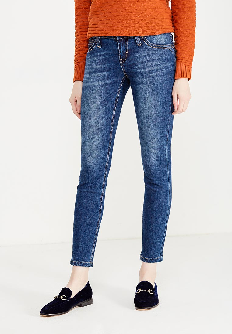 Зауженные джинсы oodji (Оджи) 12103157/46341/7900W