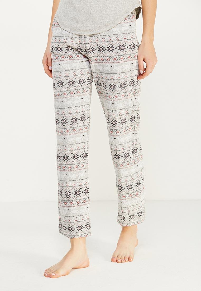 Женские домашние брюки oodji (Оджи) 59807038-1/47816/2329E