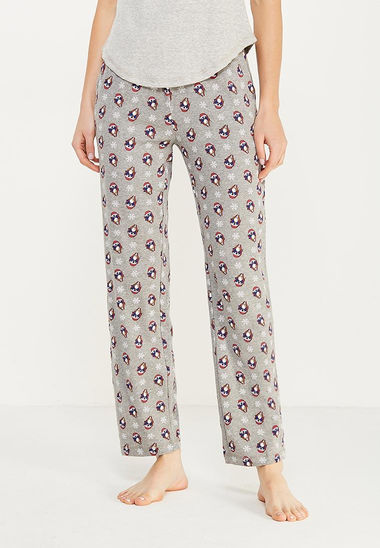 Женские домашние брюки oodji (Оджи) 59807038-2/47815/2345O