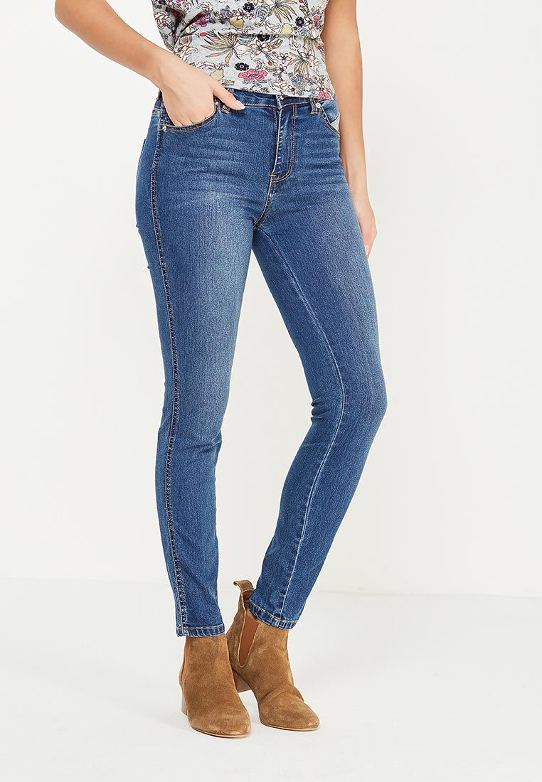 Зауженные джинсы oodji (Оджи) 12103165/45877/7500W