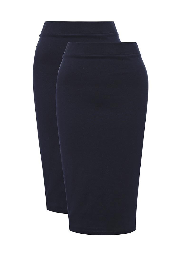 Прямая юбка oodji (Оджи) 14101099T2/47420/7900N