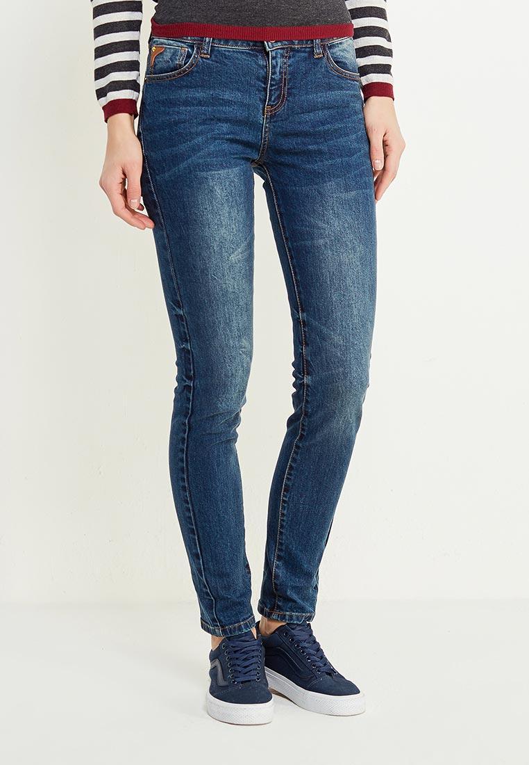 Зауженные джинсы oodji (Оджи) 12103161/46341/7900W