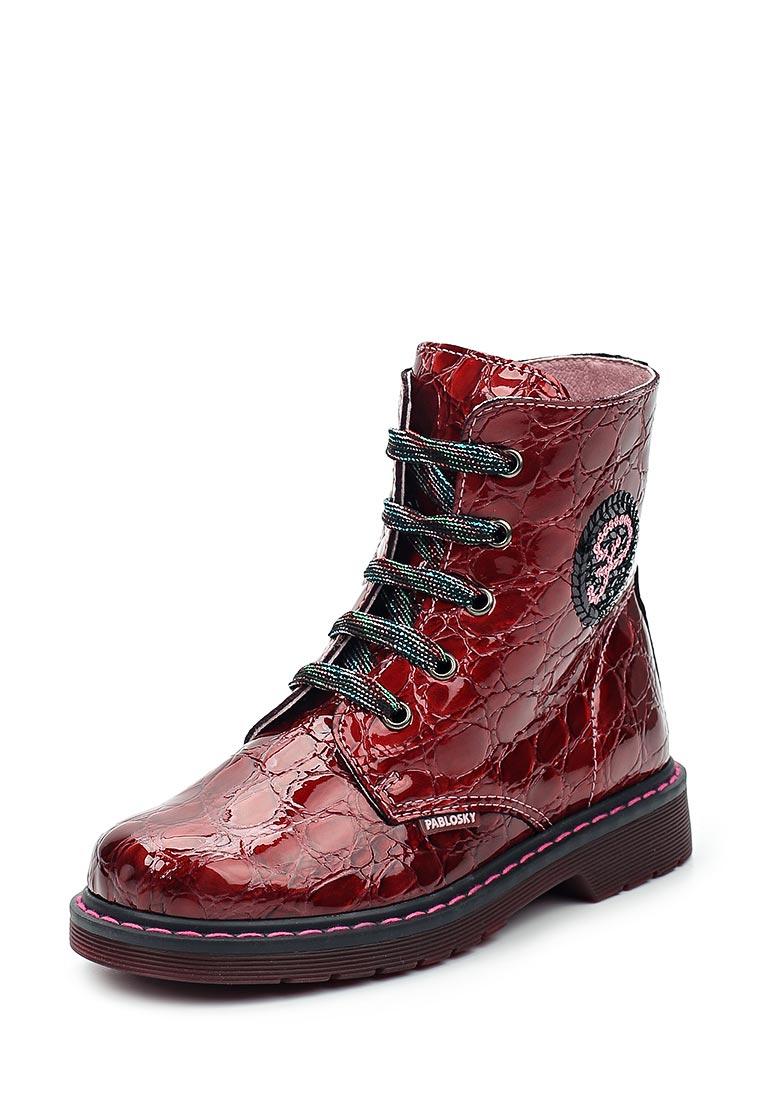 Ботинки для девочек Pablosky 448763