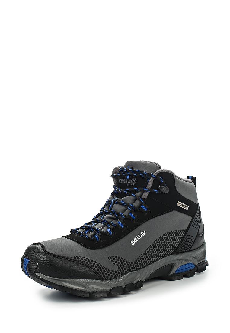 Спортивные мужские ботинки Patrol (Патрол) 562-502PF-17w-8/01-5