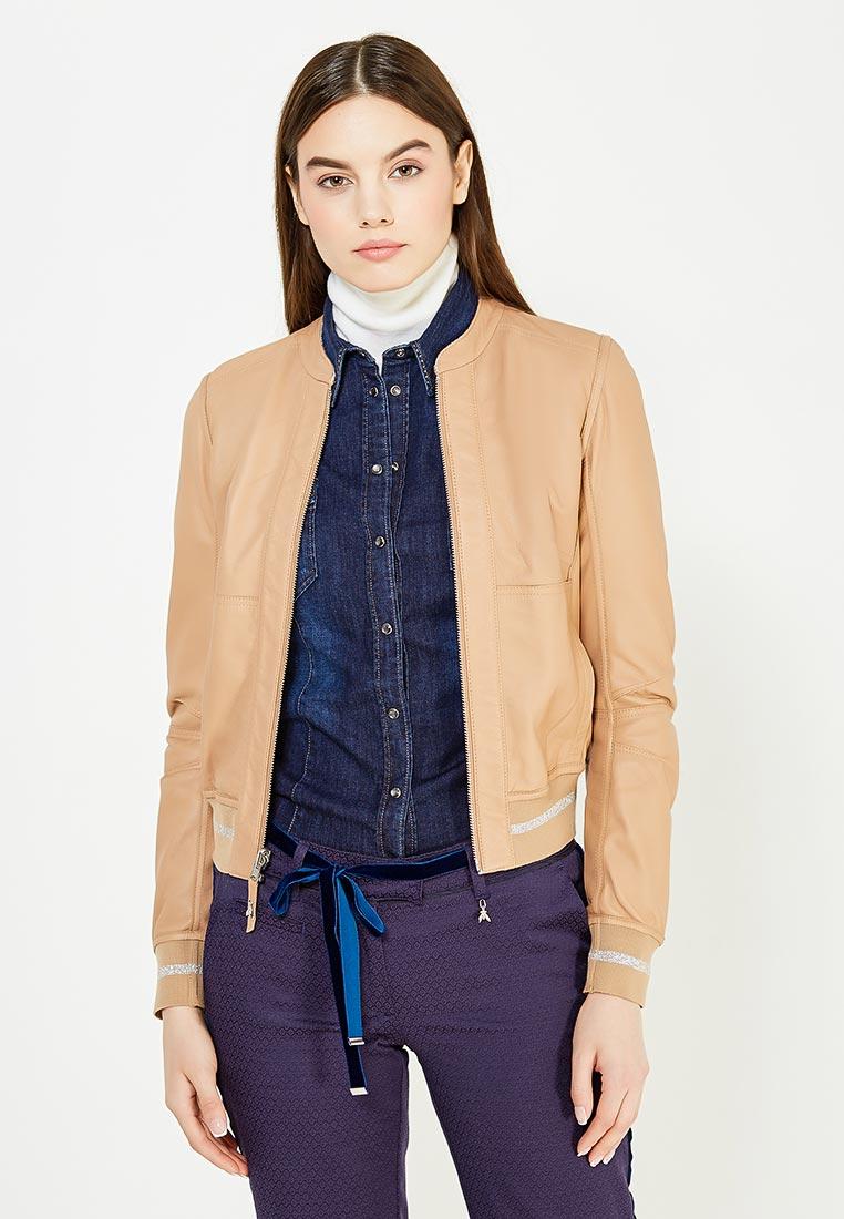 Кожаная куртка Patrizia Pepe 8L0201/A2TI