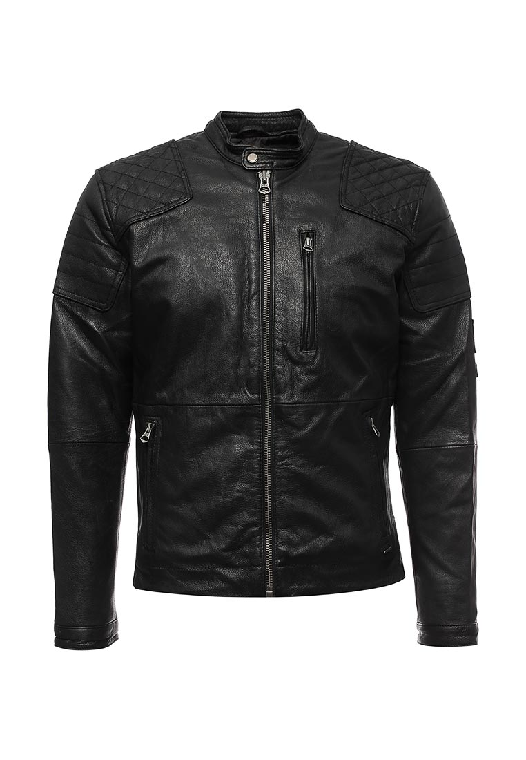 Кожаная куртка Pepe Jeans (Пепе Джинс) PM401451: изображение 1