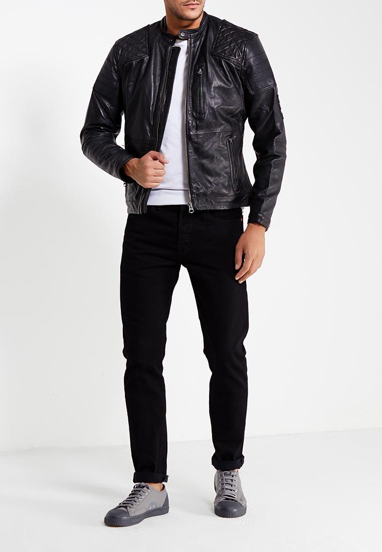 Кожаная куртка Pepe Jeans (Пепе Джинс) PM401451: изображение 2