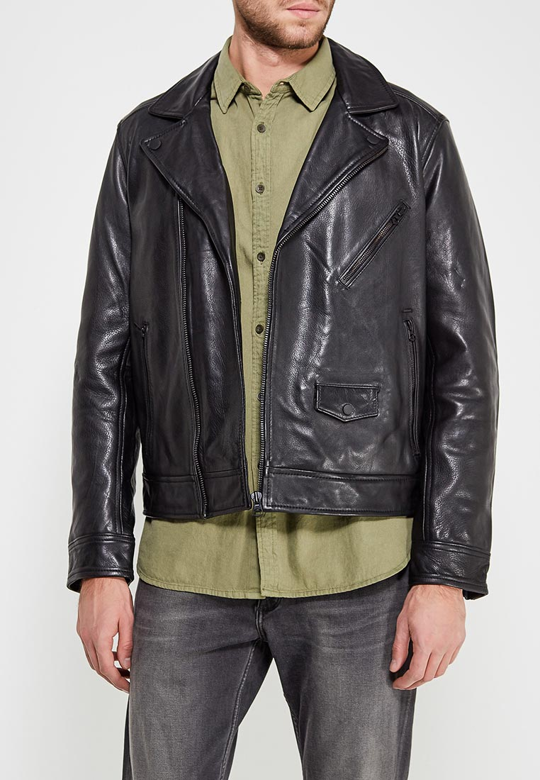 Кожаная куртка Pepe Jeans (Пепе Джинс) PM401499