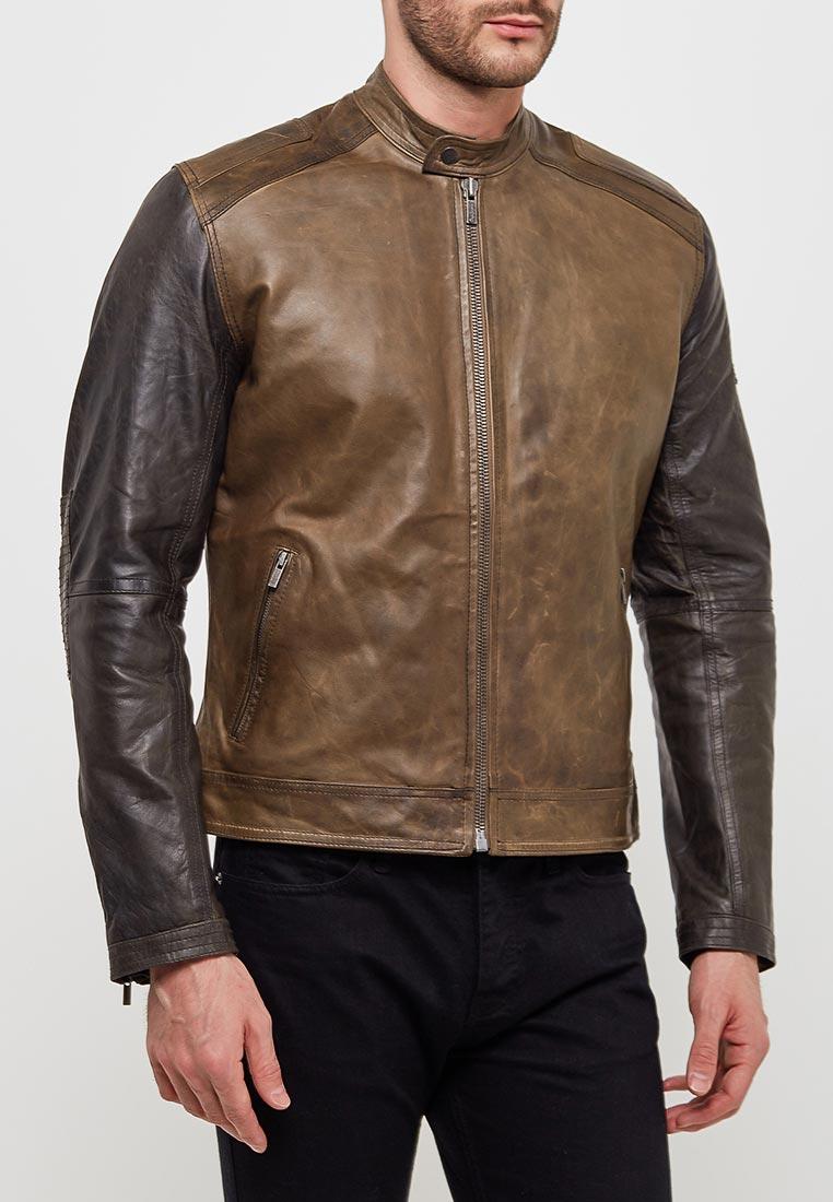 Кожаная куртка Pepe Jeans (Пепе Джинс) PM401502