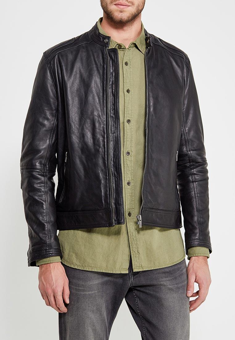 Кожаная куртка Pepe Jeans (Пепе Джинс) PM401503